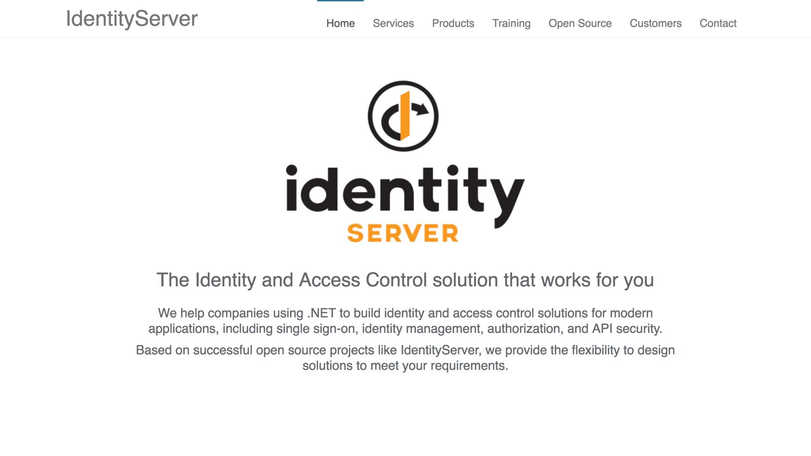 IdentityServer - BuiltWithDot Net