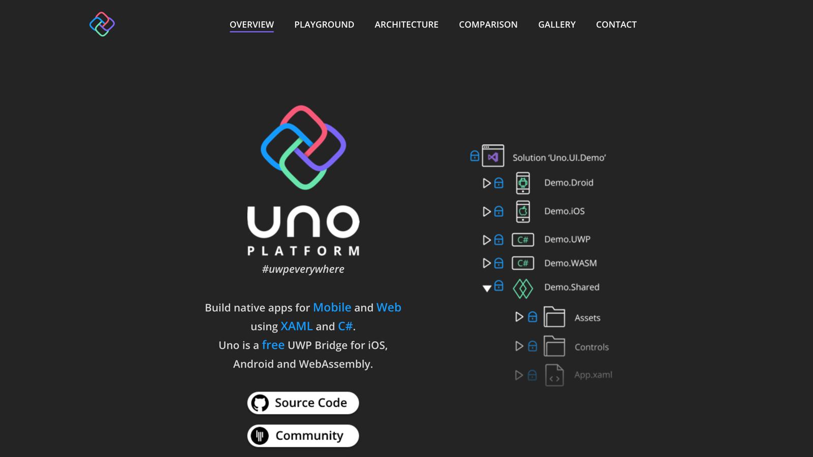 Uno Platform - BuiltWithDot Net